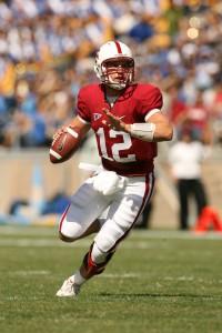 Quarterback Andrew Luck
